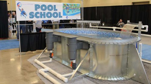 The 'Pool School' has become a staple of the Canadian Pool & Spa Conference & Expo.