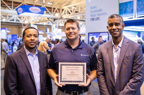 Pentair has received the 'Best New Product—Equipment Pad' award at this year's International Pool | Spa | Patio (PSP) Expo.