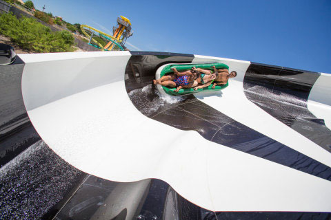 Six Flags White Water plans to open a five-storey waterslide this spring.