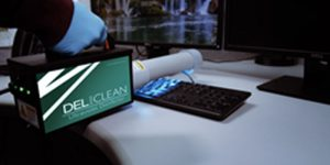 Custom Molded Products (CMP), a manufacturer of pool, spa, and bath components, has announced the release of the DEL Clean Ultraviolet (UV) Disinfector, a handheld UV device for use against harmful bacteria, micro-organisms, and viruses.