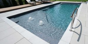 Thursday Pools has created two new, small-sized fibreglass models designed specifically for smaller backyards.