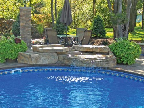 It is important to come up with a design that can accommodate multiple options to successfully achieve the client's 'dream pool.'