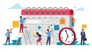 Sharing social media calendars with the team can be extremely beneficial for managing internal workflows as they allow graphic designers to view schedules and plan their designs/content in advance.