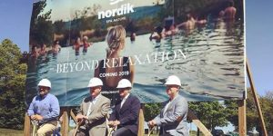 The opening of the long-awaited Nordik Spas facility in Whitby, Ont., has been delayed until spring 2021.