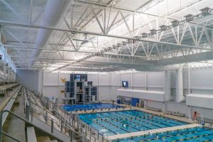 Indoor pools are challenging environments for design engineers, especially when considering the indoor air quality (IAQ) and the longevity of exposed metal components