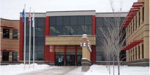 The city council of Cold Lake, Alta., has allocated $150,000 toward the development and design of a proposed aquatic centre, which would be located at the Energy Centre facility (pictured).