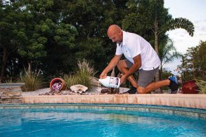 Recommending an easy-to-use liquid cover solution is also one of the simplest methods by which pool professionals can help their clients save water, money, and energy.