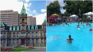 A group of residents have raised concerns about the transparency of a city of Halifax plan to replace the aging pool at the Halifax Common.