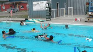 The Village of Mayo in the Yukon Territory is receiving $300,000 in federal and territorial government funding to make upgrades to a local seasonal swimming pool.