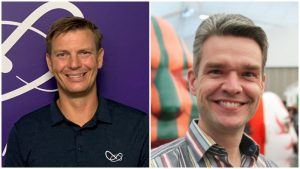 Frank Good (left) has joined WhiteWater's technology unit, Vantage, as vice-president, business development. Domingo Vergoossen has assumed the position of vice-president, global business development with WhiteWater's water rides division.